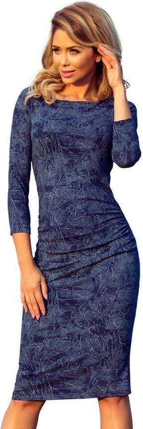 Sukienka NUMOCO z długim rękawem wyszczuplająca