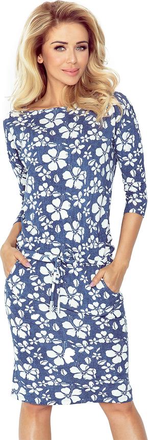 Sukienka NUMOCO z jeansu midi