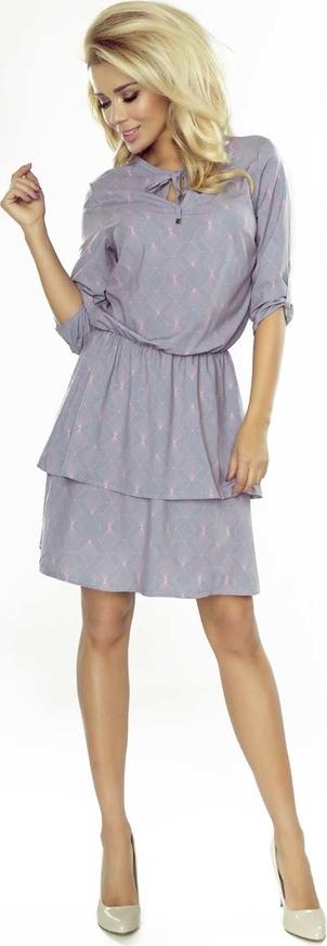 Sukienka NUMOCO z kokardą mini