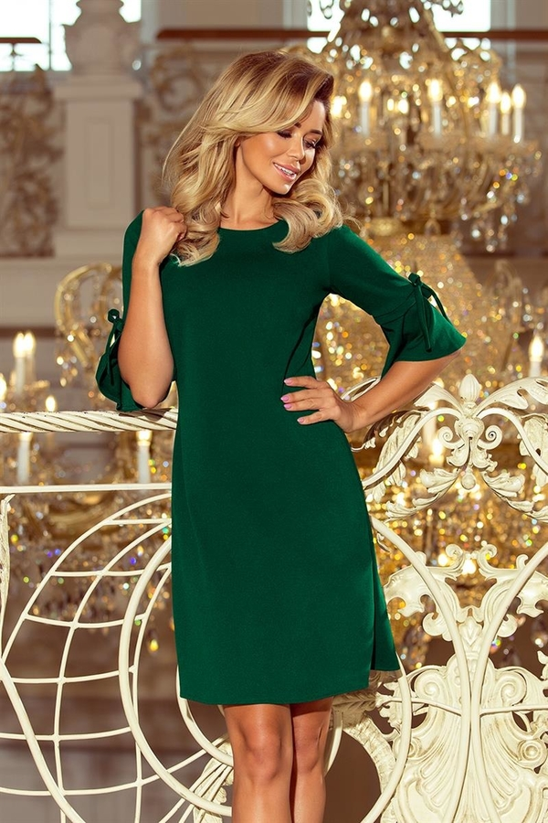 240d6261df Sukienka NUMOCO z długim rękawem midi