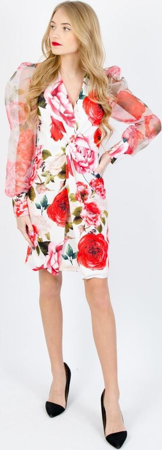 Sukienka Olika z długim rękawem mini
