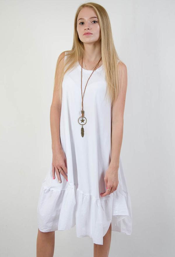 Sukienka Olika z okrągłym dekoltem bez rękawów
