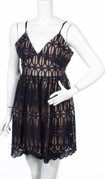 Sukienka Oml London z dekoltem w kształcie litery v mini