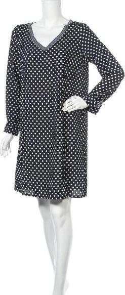 Sukienka ONE w stylu casual z długim rękawem prosta