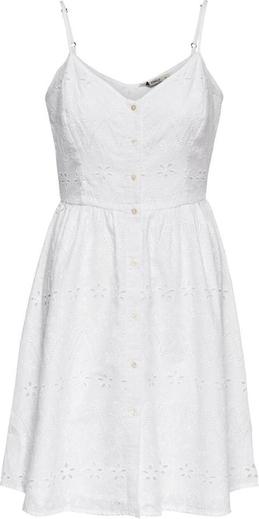 Sukienka Only mini z dekoltem w kształcie litery v na ramiączkach
