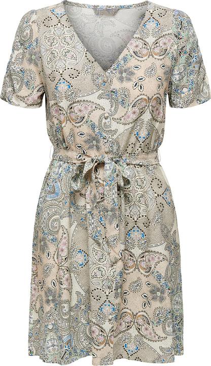 Sukienka Only mini z krótkim rękawem w stylu casual