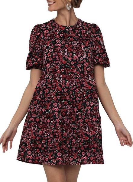 Sukienka Only z krótkim rękawem