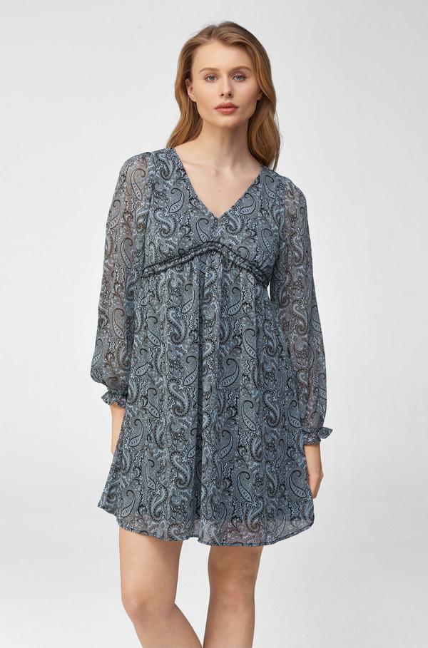 Sukienka ORSAY w stylu casual mini z dekoltem w kształcie litery v
