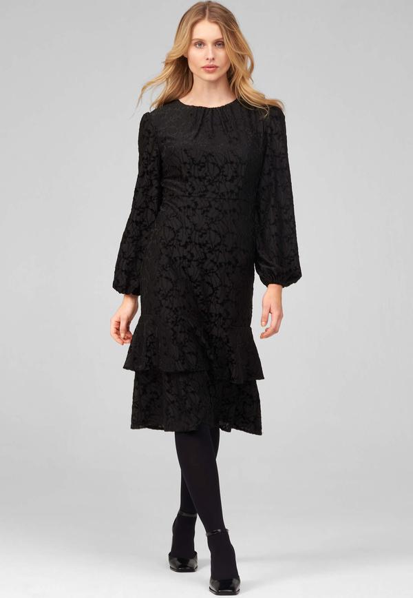 Sukienka ORSAY z długim rękawem dopasowana