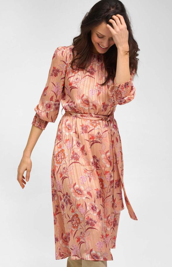 Sukienka ORSAY z szyfonu z długim rękawem