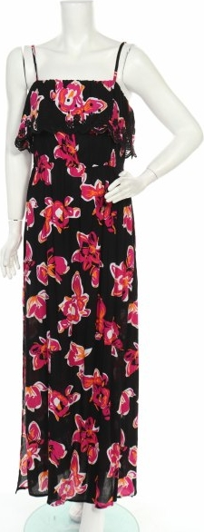 Sukienka Oviesse maxi z dekoltem w kształcie litery v na ramiączkach