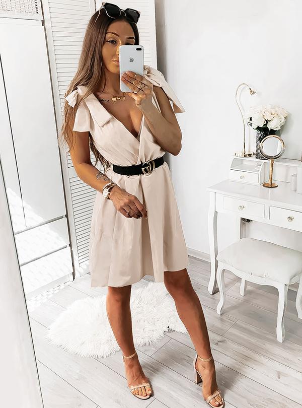 Sukienka Pakuten bez rękawów w stylu casual