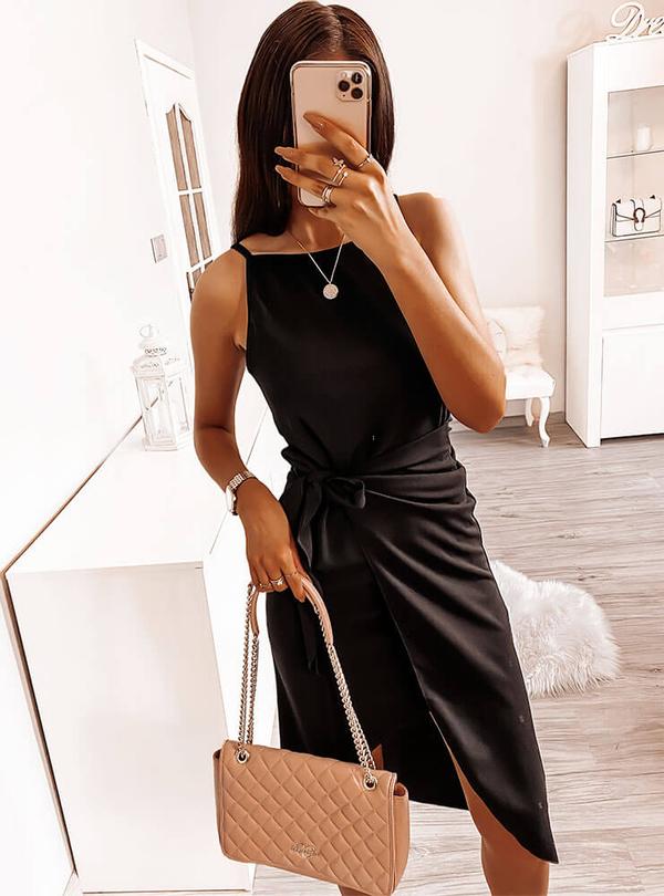 Sukienka Pakuten mini na ramiączkach
