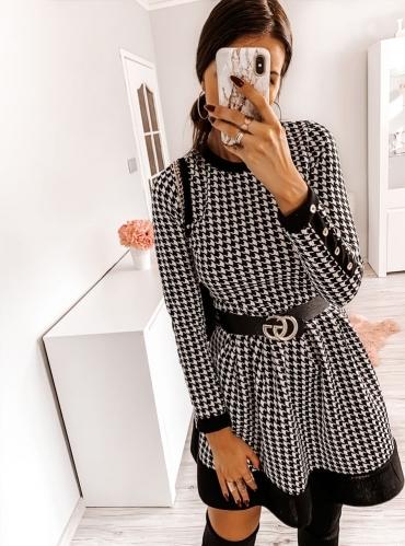 Sukienka Pakuten mini w stylu casual z bawełny
