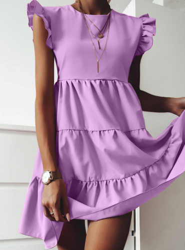 Sukienka Pakuten w stylu casual mini rozkloszowana