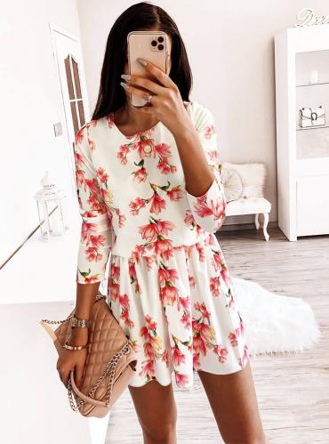Sukienka Pakuten z długim rękawem