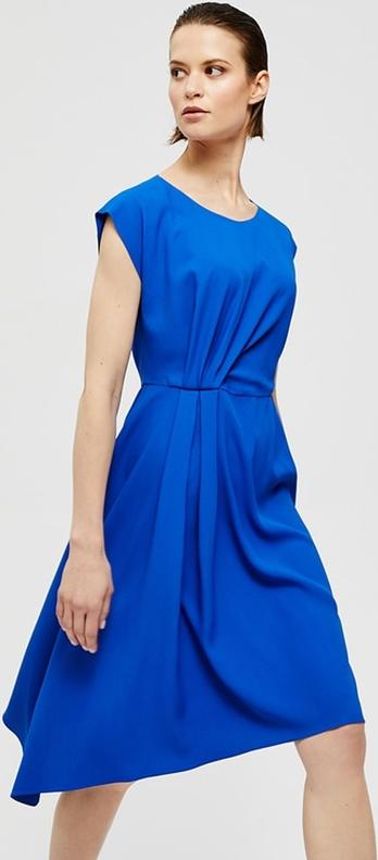 Sukienka PATRIZIA ARYTON z krótkim rękawem midi