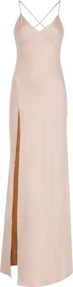 Sukienka Pepe Jeans maxi na ramiączkach z dekoltem w kształcie litery v