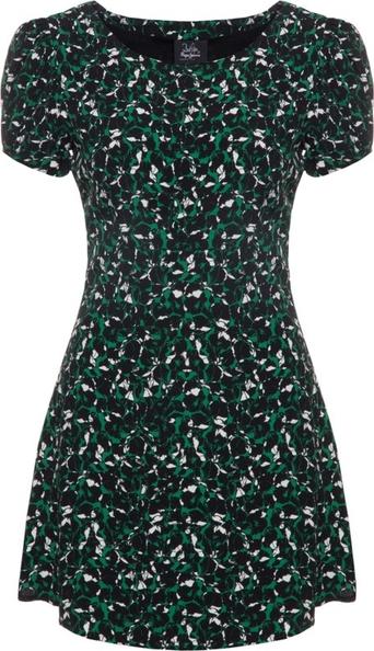 Sukienka Pepe Jeans mini z okrągłym dekoltem