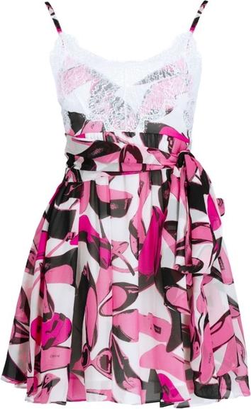 Sukienka Pinko z dekoltem w kształcie litery v dopasowana