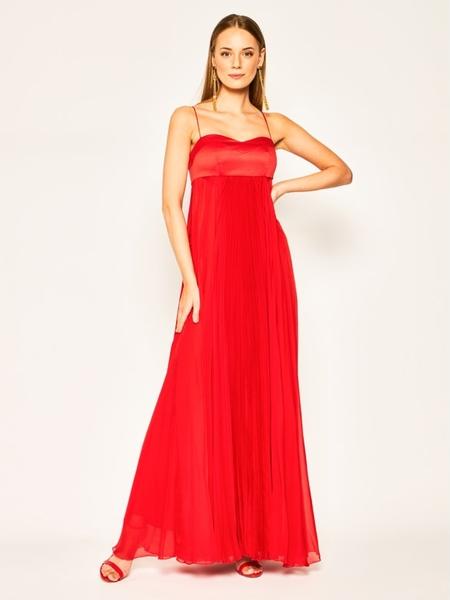 Sukienka Pinko z dekoltem w kształcie litery v maxi