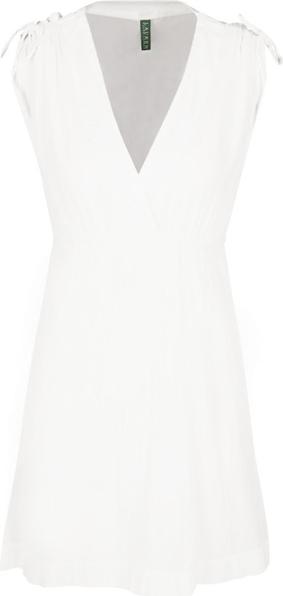 Sukienka POLO RALPH LAUREN bez rękawów z dekoltem w kształcie litery v