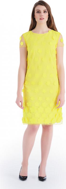 Sukienka POTIS & VERSO prosta z żakardu