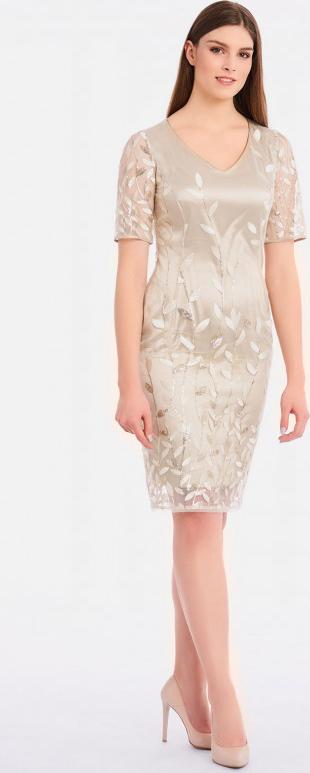 Sukienka POTIS & VERSO z tkaniny