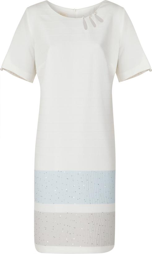 Sukienka Poza w stylu casual prosta midi