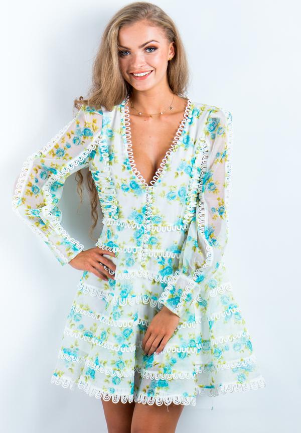 Sukienka Produkt Importowany rozkloszowana