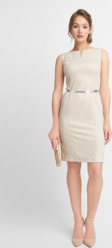 Sukienka QUIOSQUE mini bez rękawów