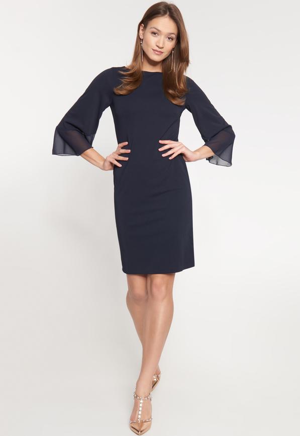 Sukienka QUIOSQUE mini dopasowana