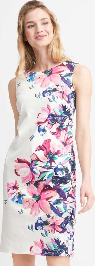 Sukienka QUIOSQUE mini w stylu casual prosta