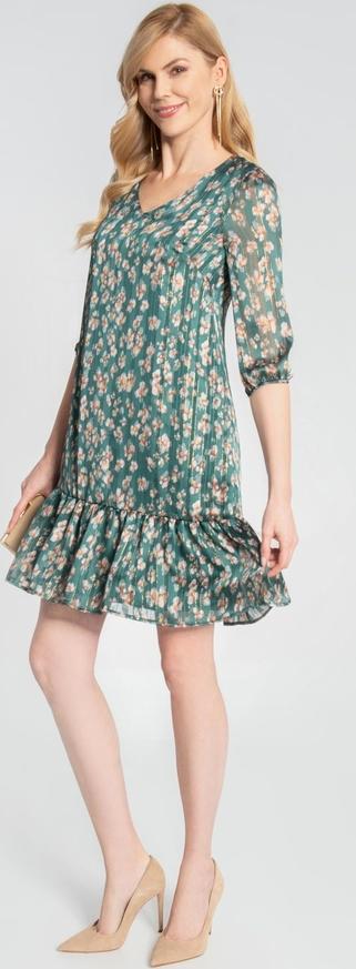 Sukienka QUIOSQUE w stylu casual z długim rękawem