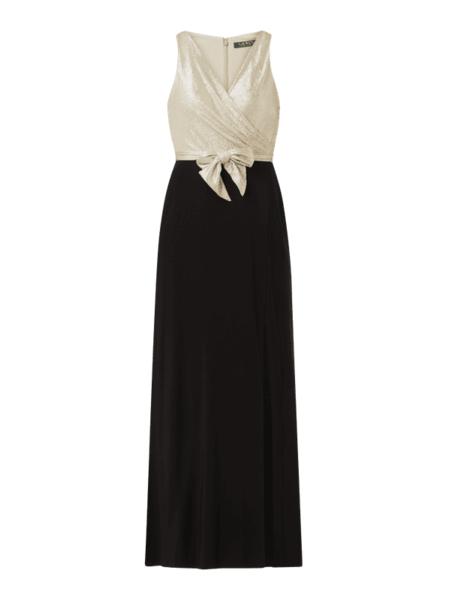Sukienka Ralph Lauren bez rękawów maxi