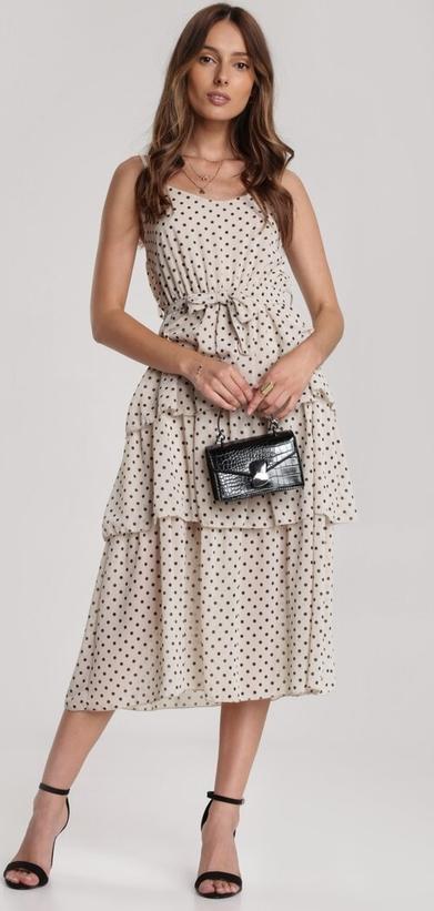 Sukienka Renee baskinka z okrągłym dekoltem
