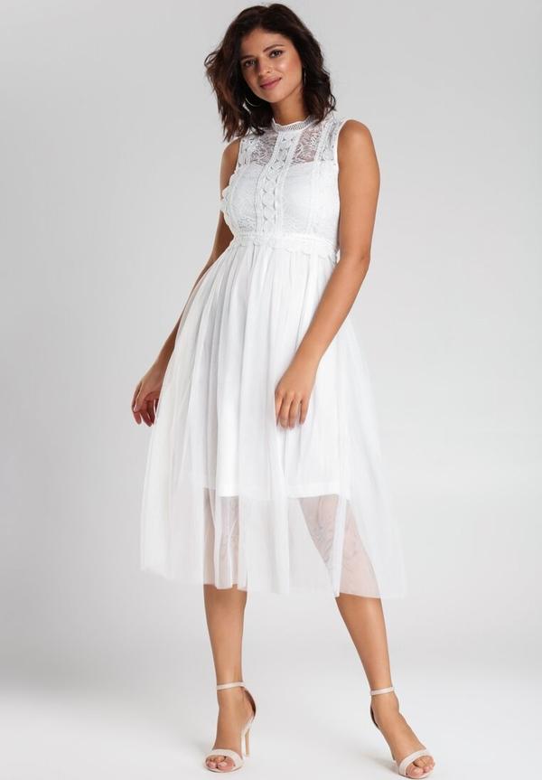 Sukienka Renee bez rękawów midi