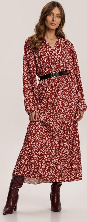 Sukienka Renee maxi z długim rękawem