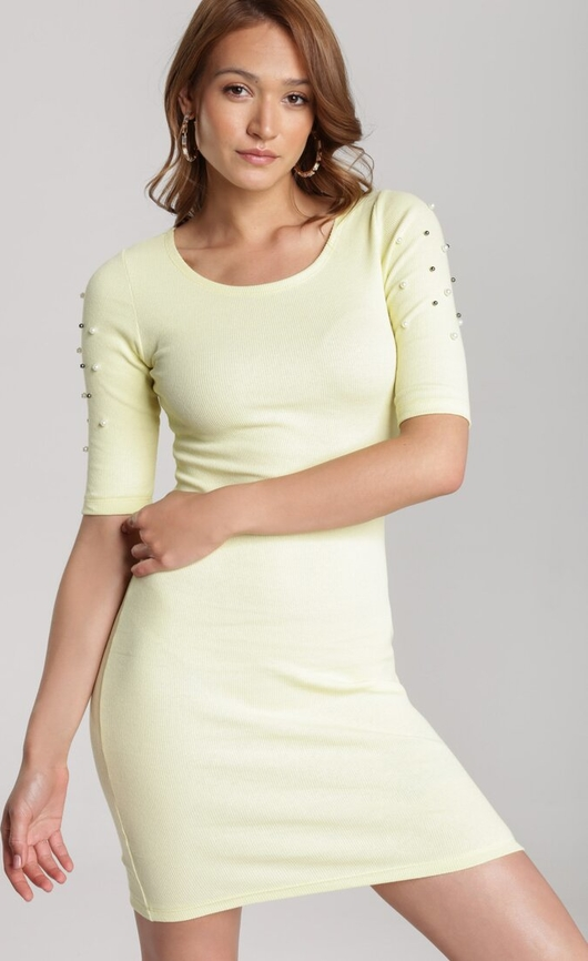 Sukienka Renee mini dopasowana w stylu casual