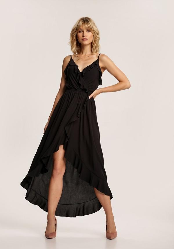 Sukienka Renee na ramiączkach w stylu casual z dekoltem w kształcie litery v