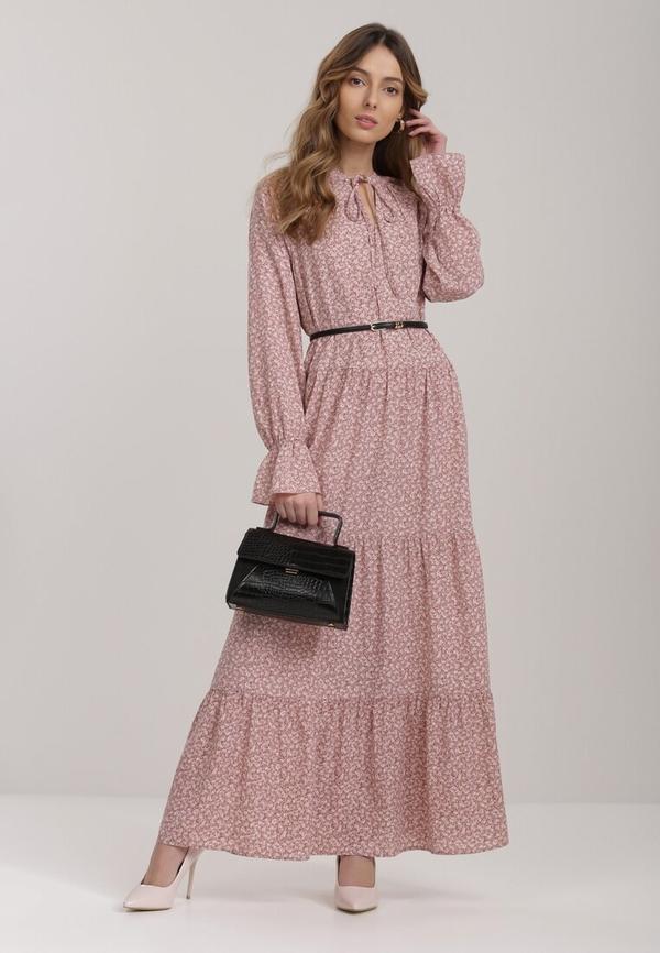 Sukienka Renee trapezowa maxi
