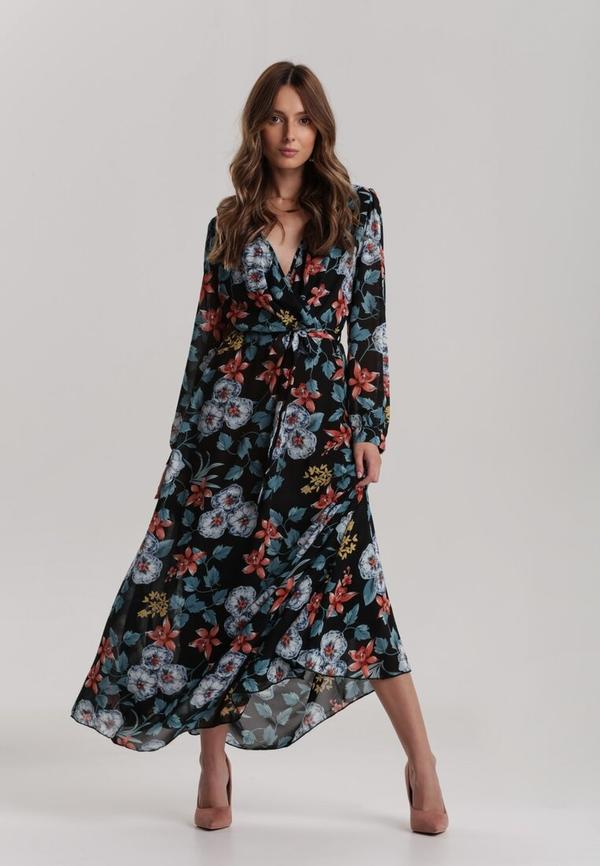 Sukienka Renee z długim rękawem maxi w stylu boho