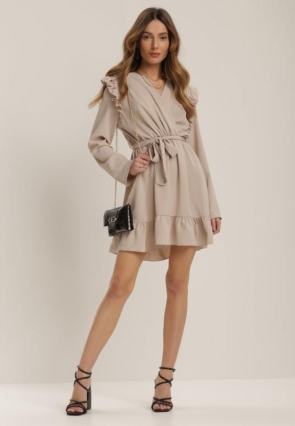 Sukienka Renee z długim rękawem mini