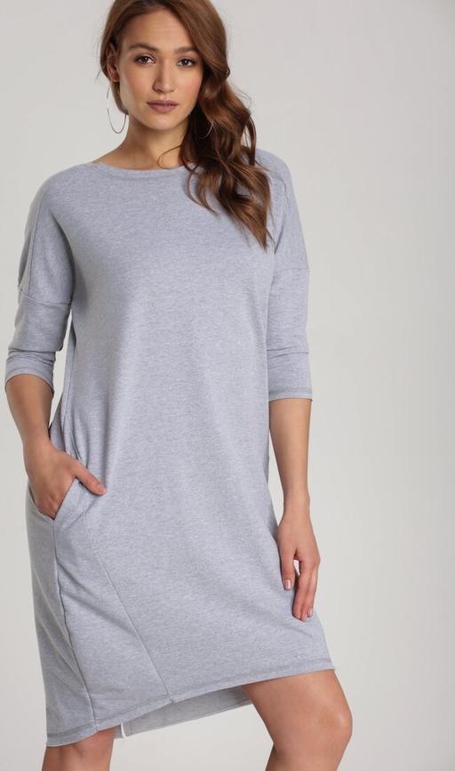 Sukienka Renee z długim rękawem mini prosta