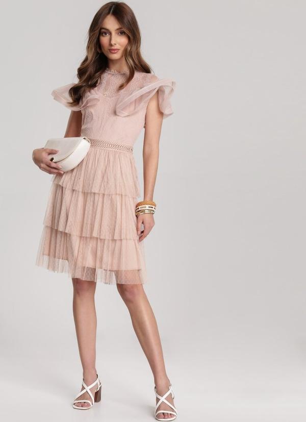 Sukienka Renee z okrągłym dekoltem