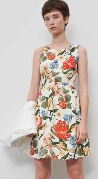 Sukienka Reserved bez rękawów mini
