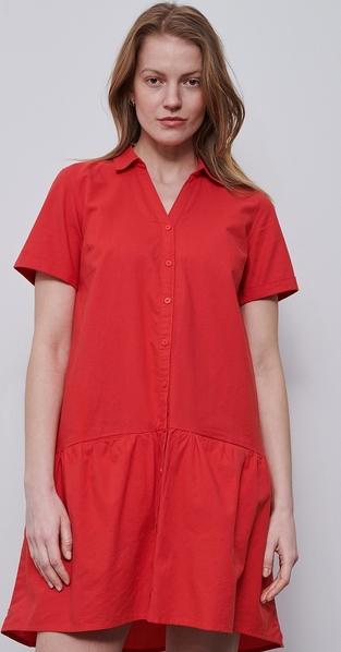 Sukienka Reserved koszulowa mini