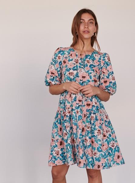 Sukienka Reserved mini z bawełny