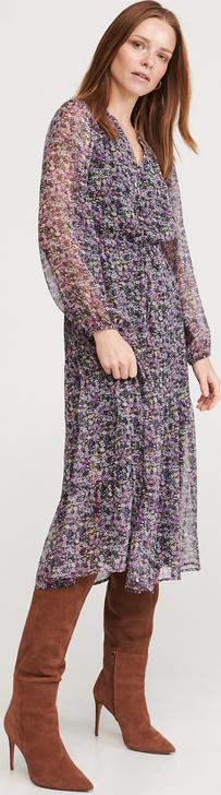 Sukienka Reserved w stylu casual midi koszulowa