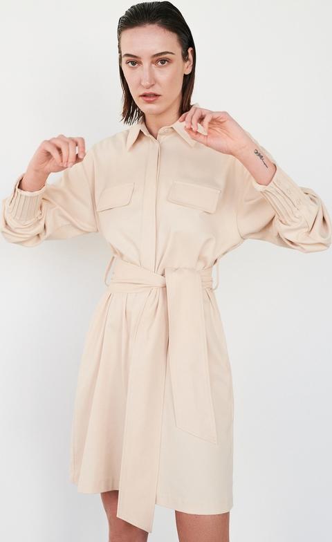 Sukienka Reserved w stylu casual szmizjerka mini